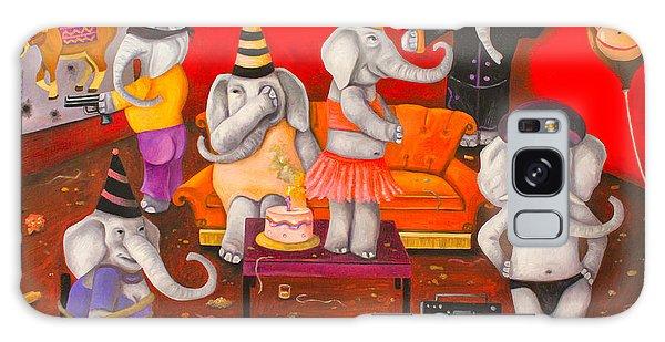 White Elephant Party Edit 5 Galaxy Case