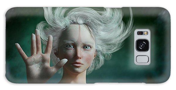 Elf Galaxy Case - White Faun by Britta Glodde