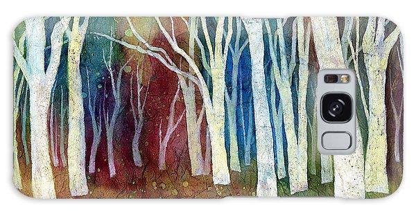 White Forest I Galaxy Case by Hailey E Herrera