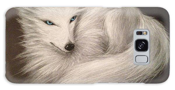 White Fox Galaxy Case