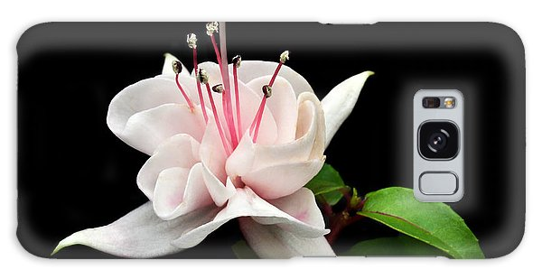 White Fuchsia. Galaxy Case