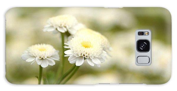 White Garden II Galaxy Case