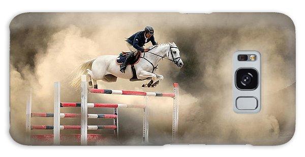 Jump Galaxy Case - White Horse by Arif ??nsal