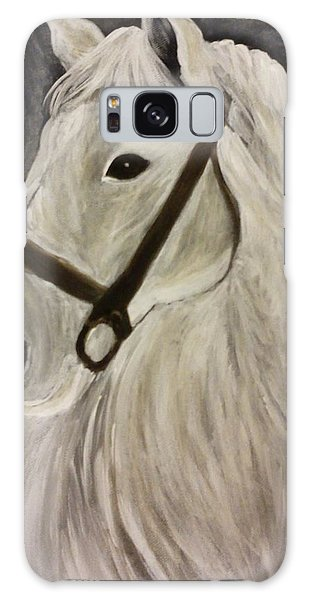 White Horse Galaxy Case by Christy Saunders Church