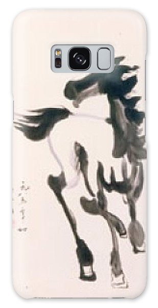 White Horse  Galaxy Case by Fereshteh Stoecklein