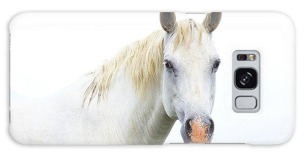 White Horse Galaxy Case by Karen McKenzie McAdoo