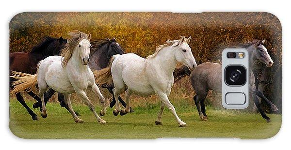 White Horse Vale Lipizzans Galaxy Case