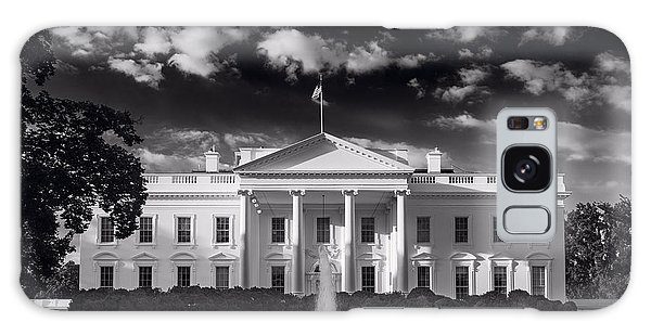 White House Sunrise B W Galaxy Case