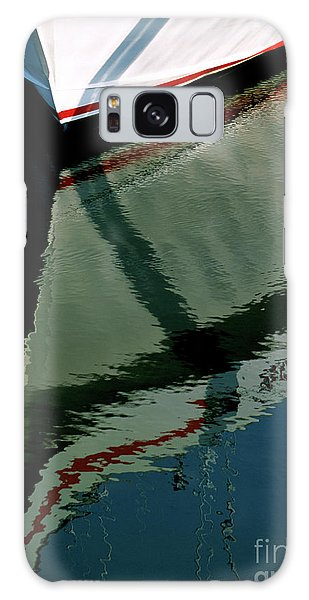 White Hull On The Water Galaxy Case