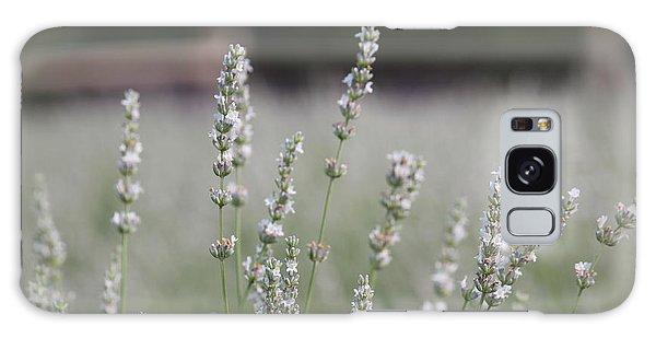 White Lavender Galaxy Case by Lynn Sprowl