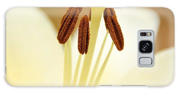 White Lily #2 Galaxy Case by Lisa L Silva