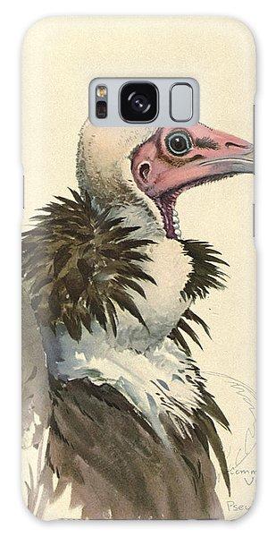 White Necked Vulture Galaxy S8 Case