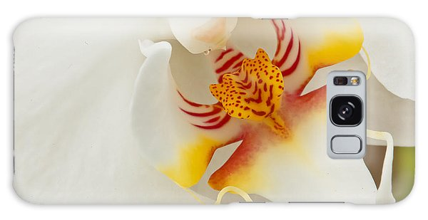 White Orchid 2 Galaxy Case