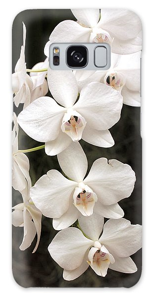 White Orchid Cascade Galaxy Case