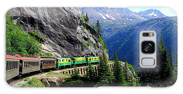 White Pass And Yukon Route Railway In Canada Galaxy Case