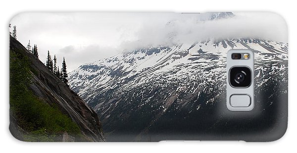 White Pass Railroad View Galaxy Case