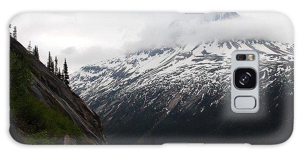 White Pass Railroad View Galaxy Case by Robert  Moss