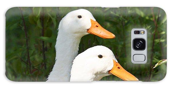 White Pekin Duck Galaxy Case