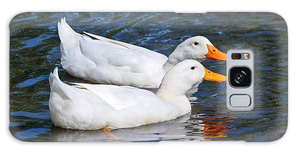 White Pekin Ducks #2 Galaxy Case