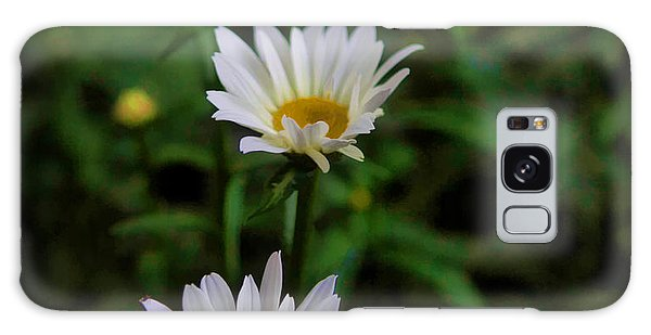 White Petals Galaxy Case