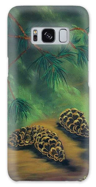 White Pine  And Cones Galaxy Case