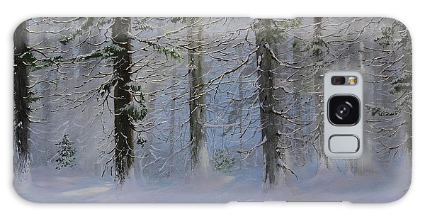 White Pines Galaxy Case by Ken Ahlering