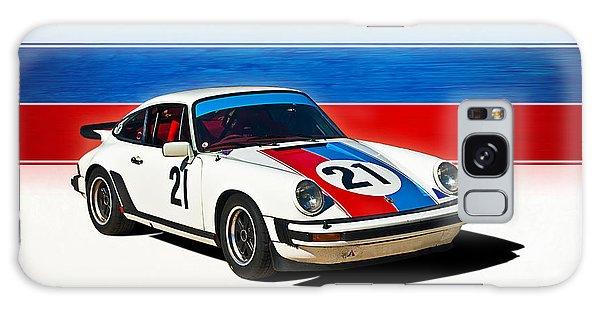 White Porsche 911 Galaxy Case