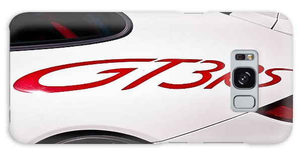 White Porsche Gt3rs - Rear Quarter Galaxy Case