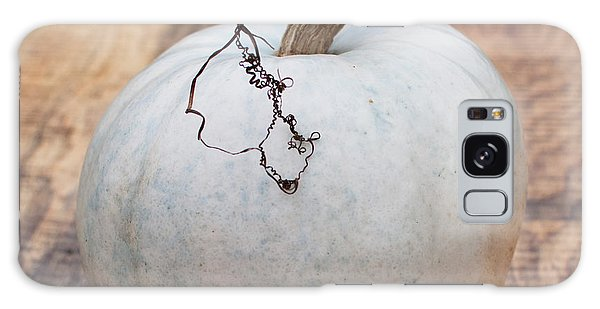 Autumn Galaxy Case - White Pumpkin by Elizabeth Gray