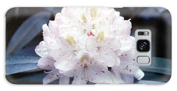 White Rhododendron Galaxy Case