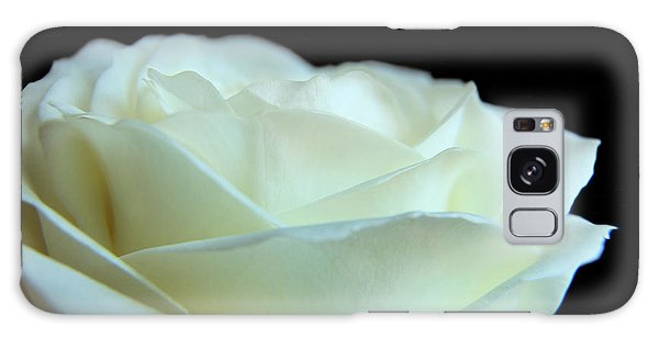 White Avalanche Rose Galaxy Case