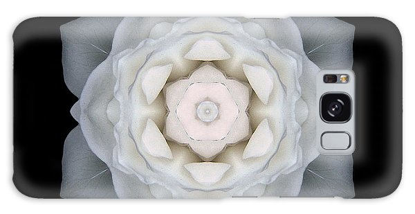 White Rose I Flower Mandala Galaxy Case