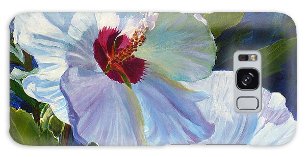 White Rose Of Sharon Galaxy Case