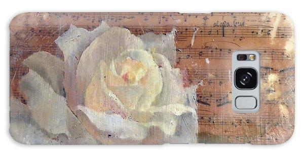 White Rose Galaxy Case