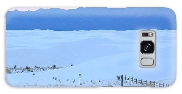 White Sands New Mexico Galaxy Case