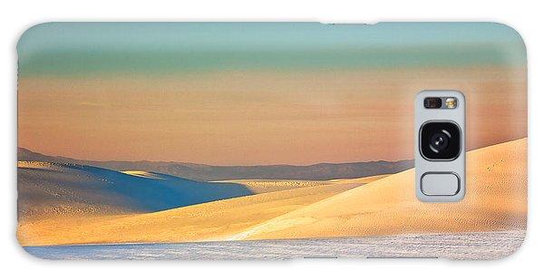 White Sands Sunset Galaxy Case