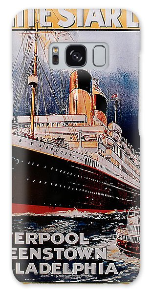 White Star Line Poster 1 Galaxy Case