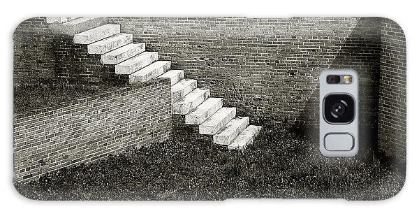 White Steps At Fort Barrancas Galaxy Case