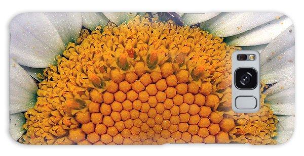 White Sunflower Galaxy Case
