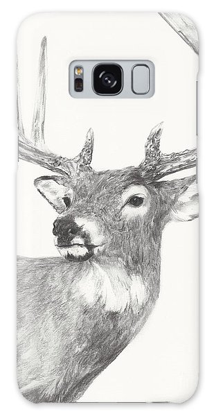 White Tailed Buck Study Galaxy Case