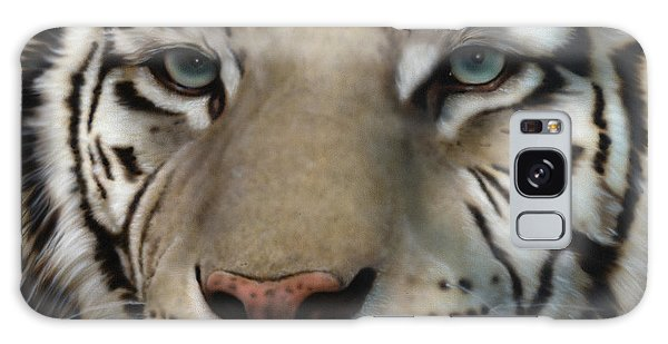 White Tiger - Up Close And Personal Galaxy Case