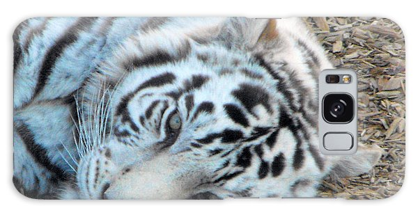 White Tiger Galaxy Case