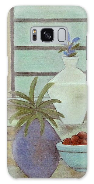 White Vase Galaxy Case