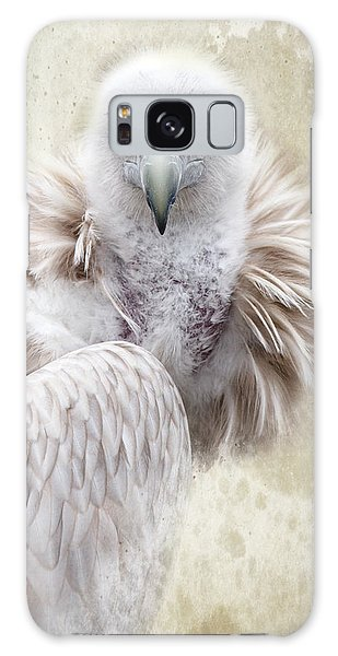 White Vulture  Galaxy Case by Barbara Orenya