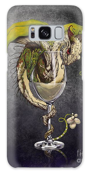 White Wine Dragon Galaxy S8 Case