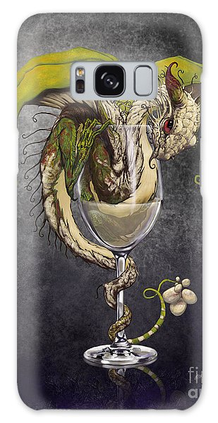 White Wine Dragon Galaxy Case by Stanley Morrison