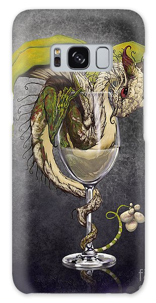 Dragon Galaxy S8 Case - White Wine Dragon by Stanley Morrison