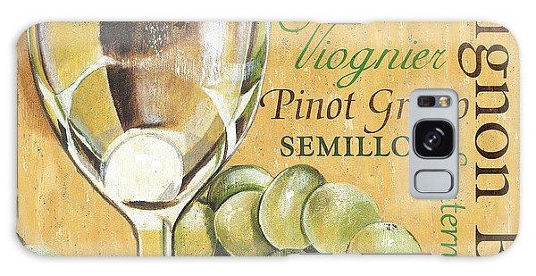 Antique Galaxy Case - White Wine Text by Debbie DeWitt