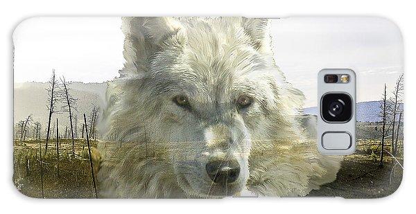 White Wolf Galaxy Case