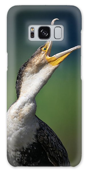 Breast Galaxy Case - Whitebreasted Cormorant by Johan Swanepoel